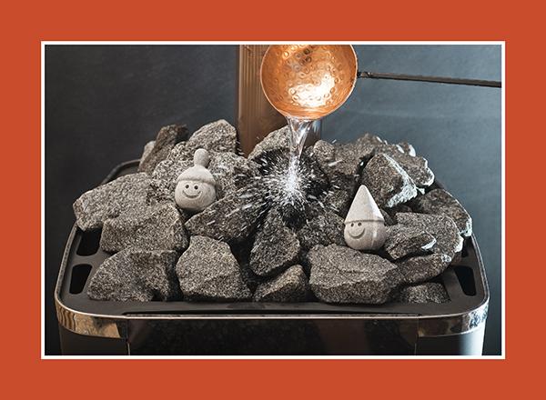 Die besten Saunasteine: Sauna Rocks aus Vulkanit