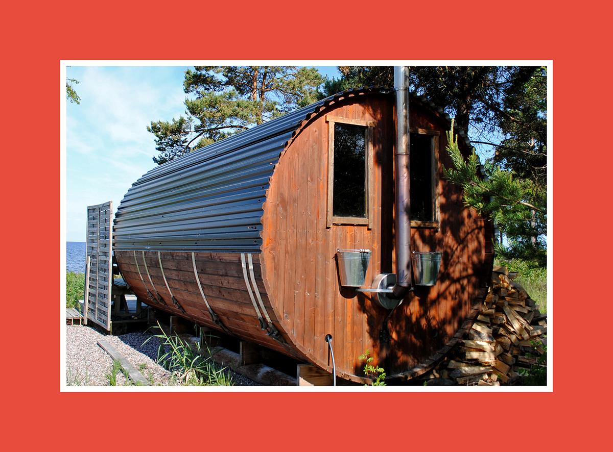 Runde Sauna