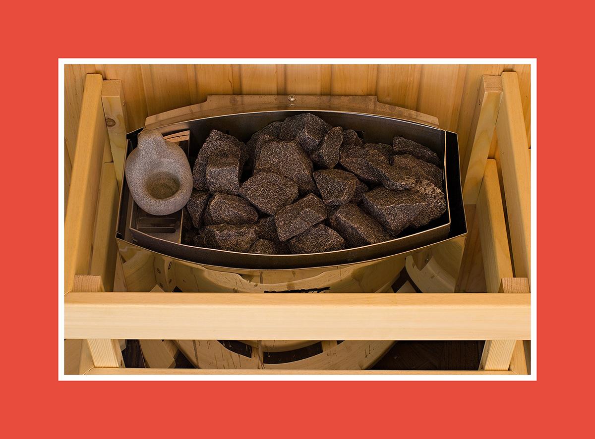 Saunaverdampfer: einfach und praktisch