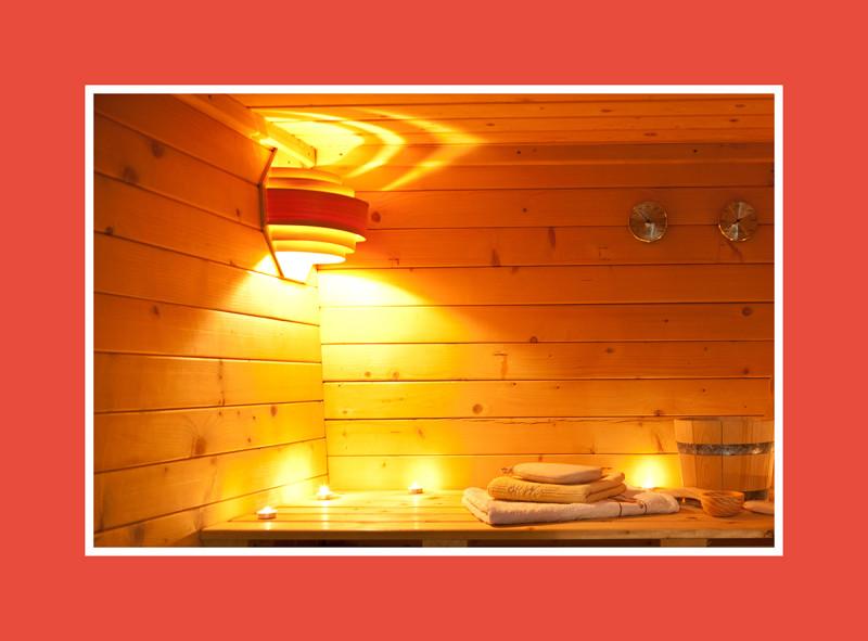 Sauna Zubehör Leuchte Blendschirm