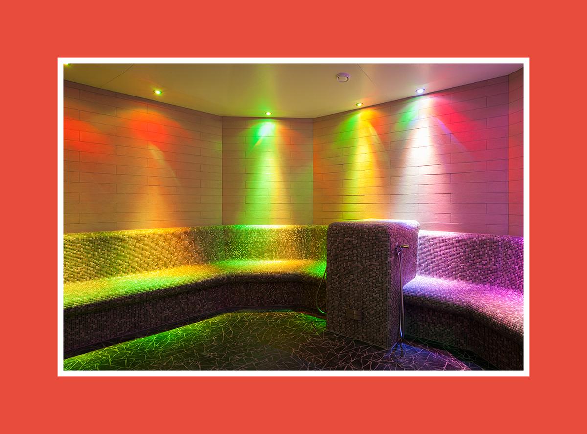 Saunalicht: Die Party-Atmosphäre