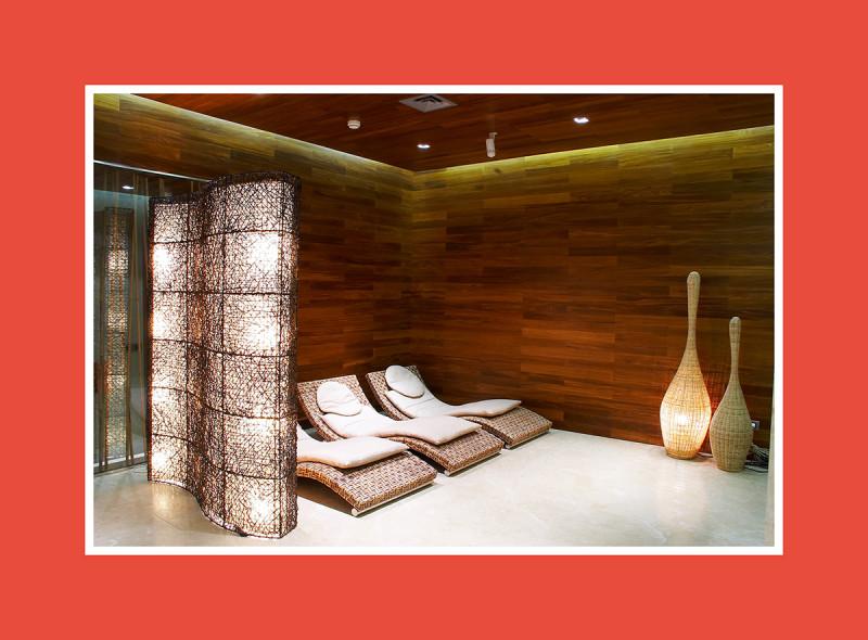 Saunazubehör Saunaliege Relaxliege
