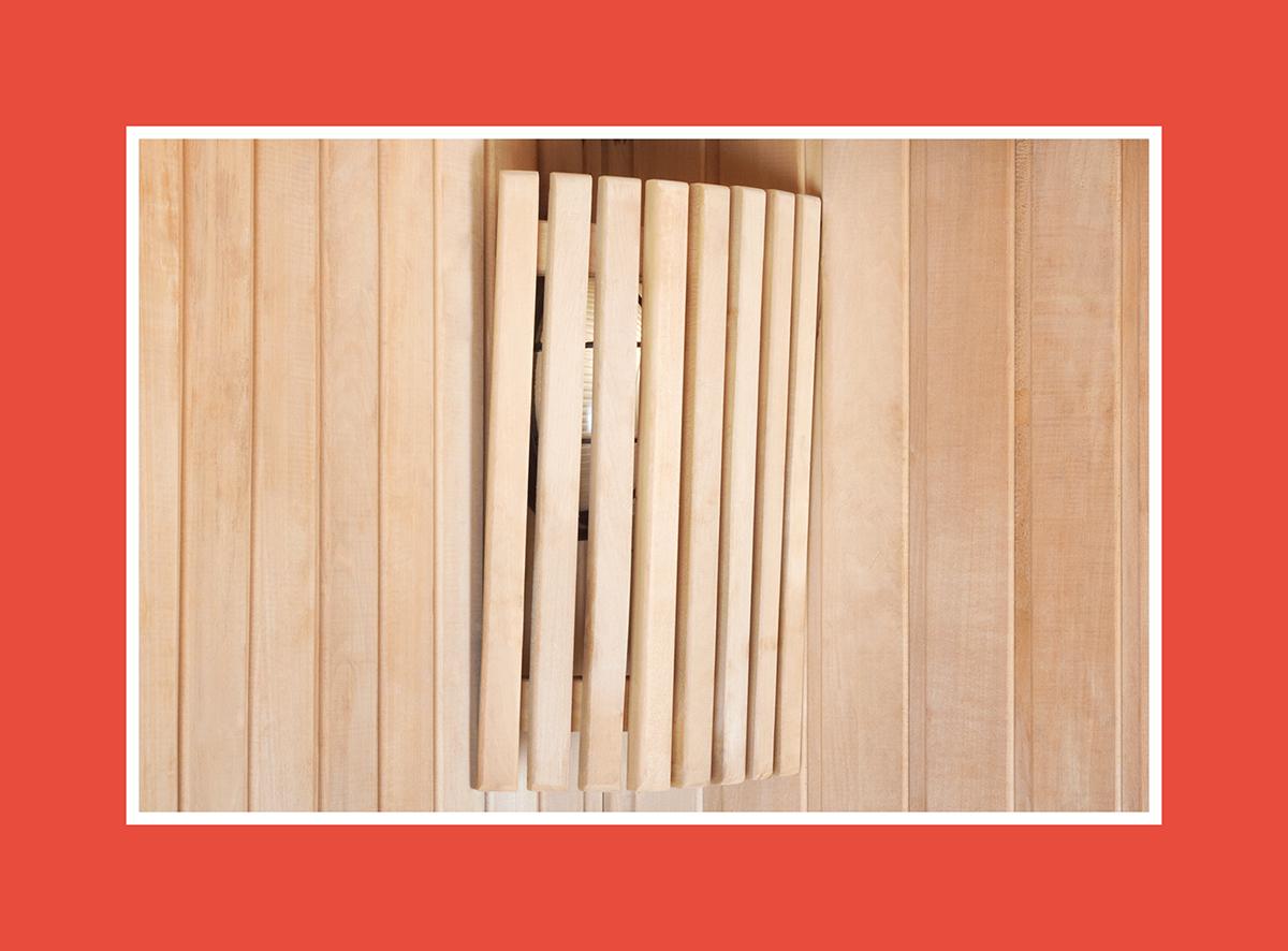 Blendschirm aus Holz – Harmonie an der Wand