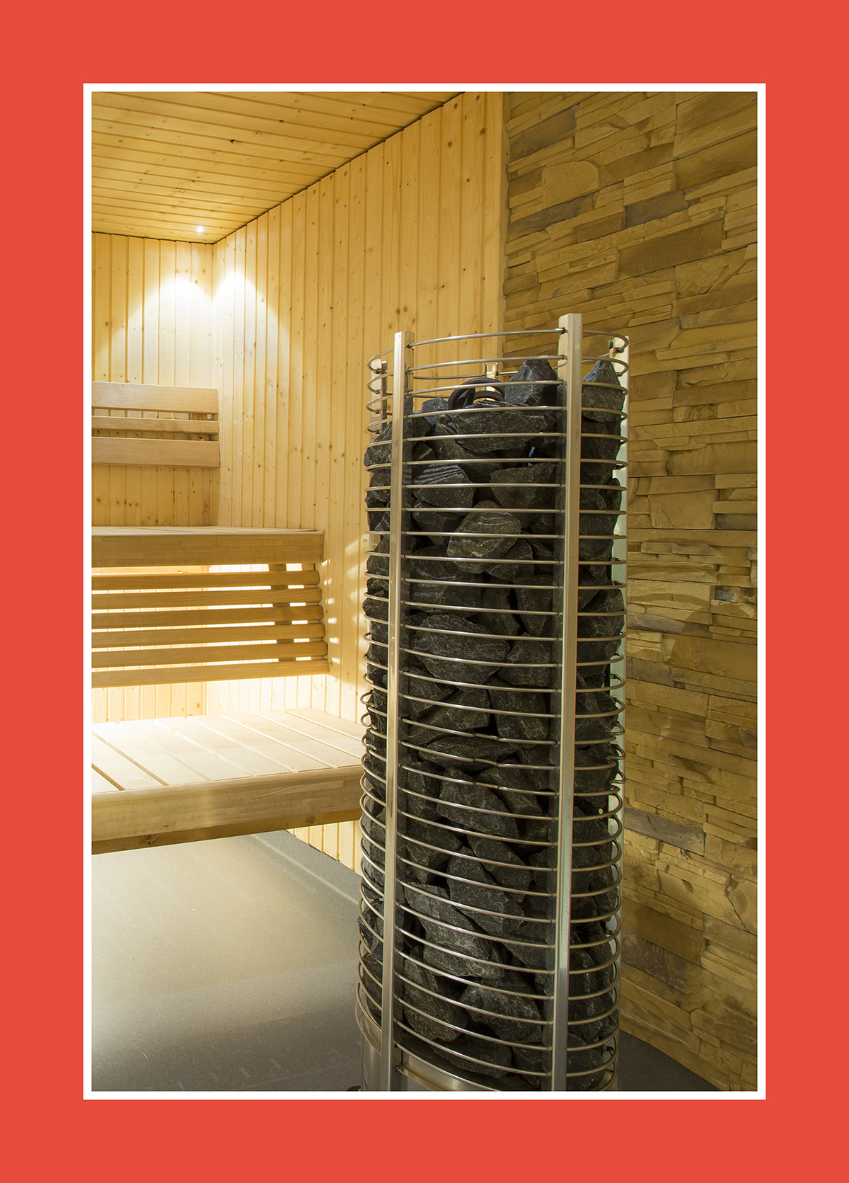Der runde Saunaofen: Immer höher