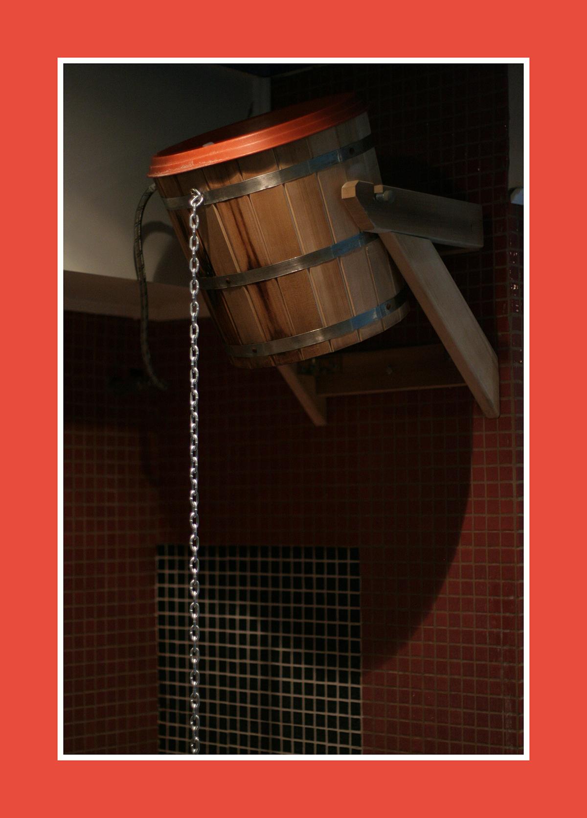 Der Schwalleimer mit der Edelstahlkette: Wenn die Qualität zählt