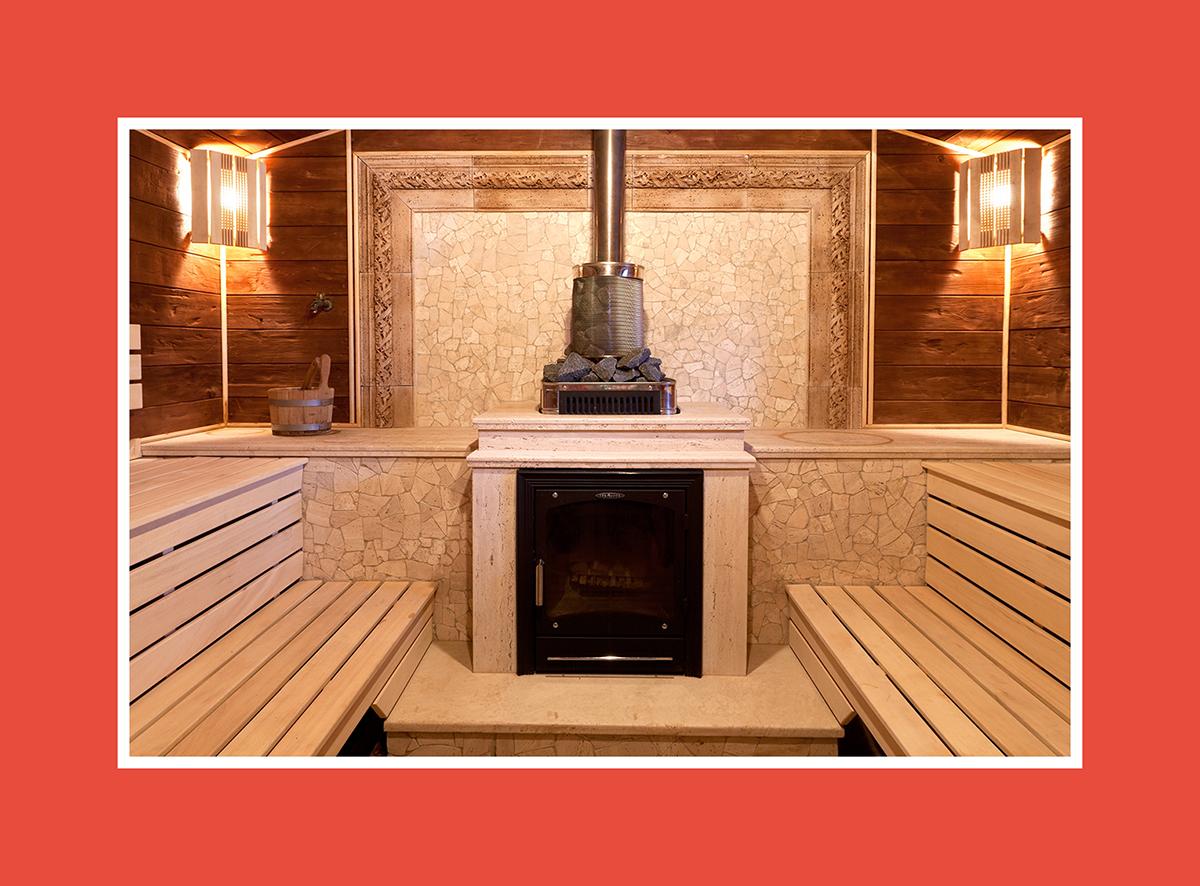 Holzbefeuerte Saunaofen: Edelgenuss am Kamin
