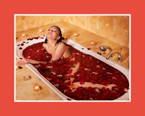 Sauna romantisch