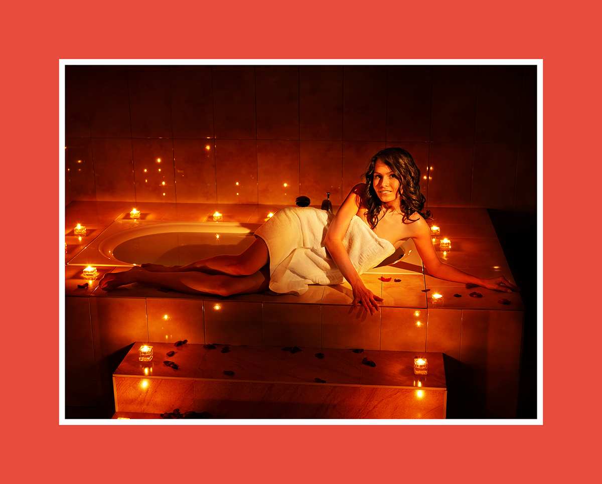 Sauna romantisch: Stiller Genuss im Kerzenlicht