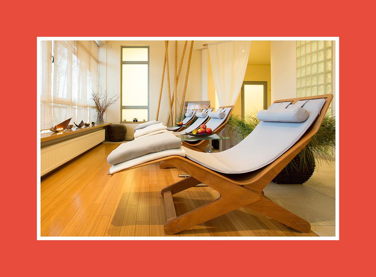 Saunaliege mit mehr Flexibilität