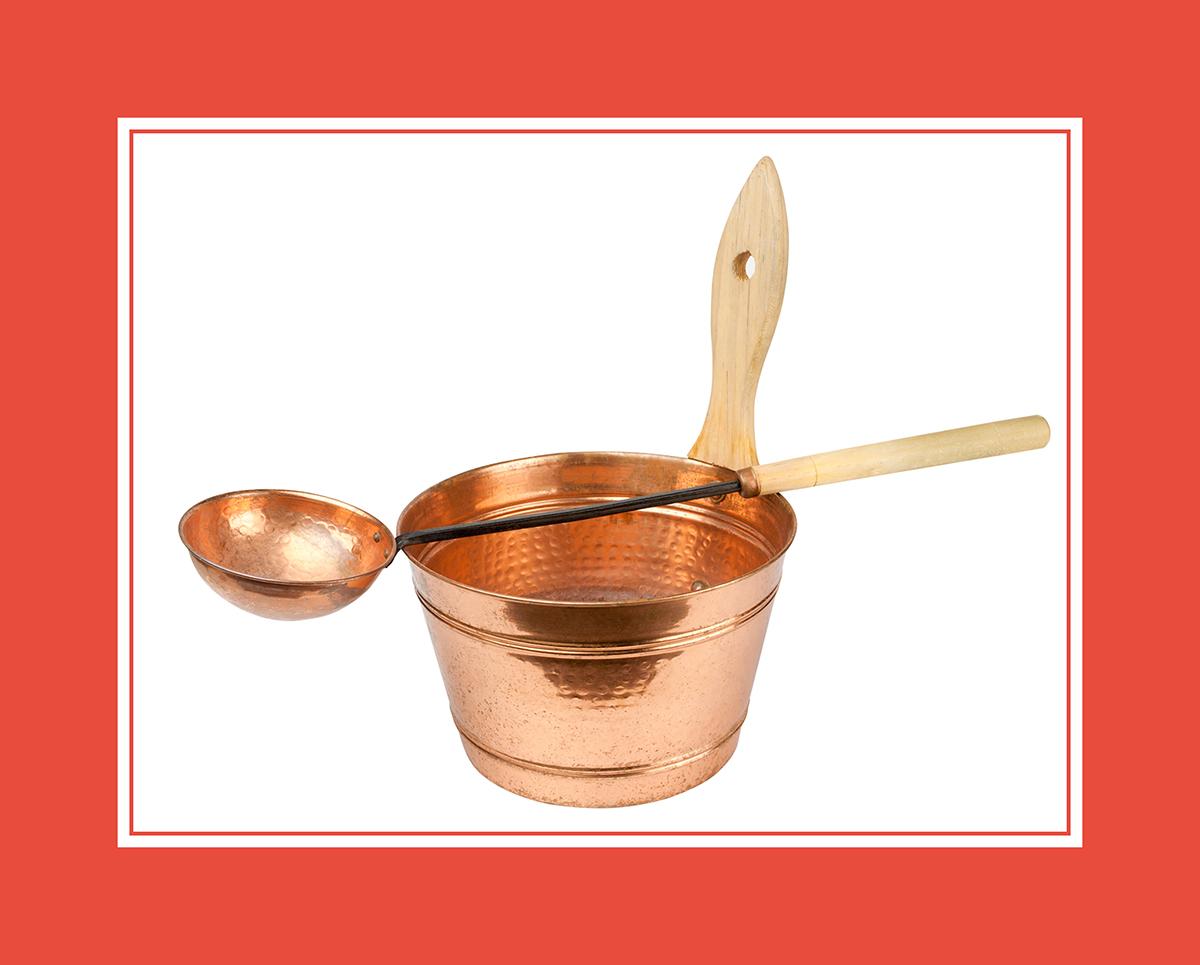 Schöpfkelle aus Kupfer – für die Ewigkeit