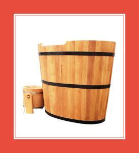 Tauchbecken für Sauna