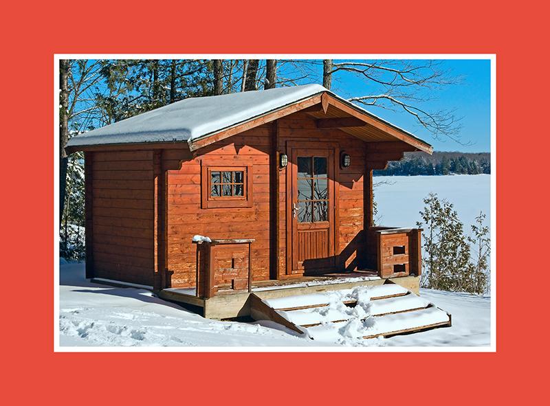 Outdoor Sauna 1
