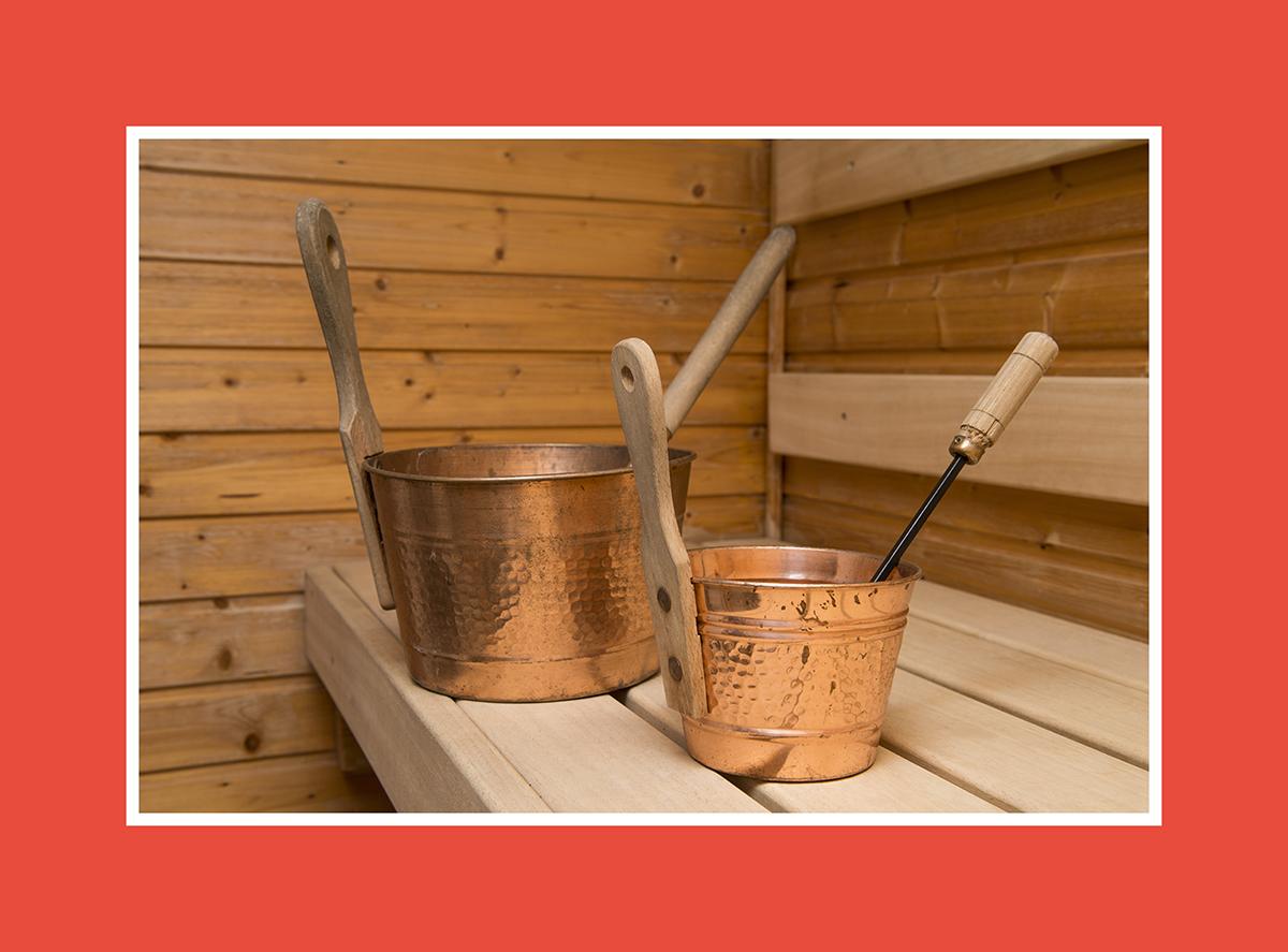 Saunazubehör Sauna Aufgusseimer 5