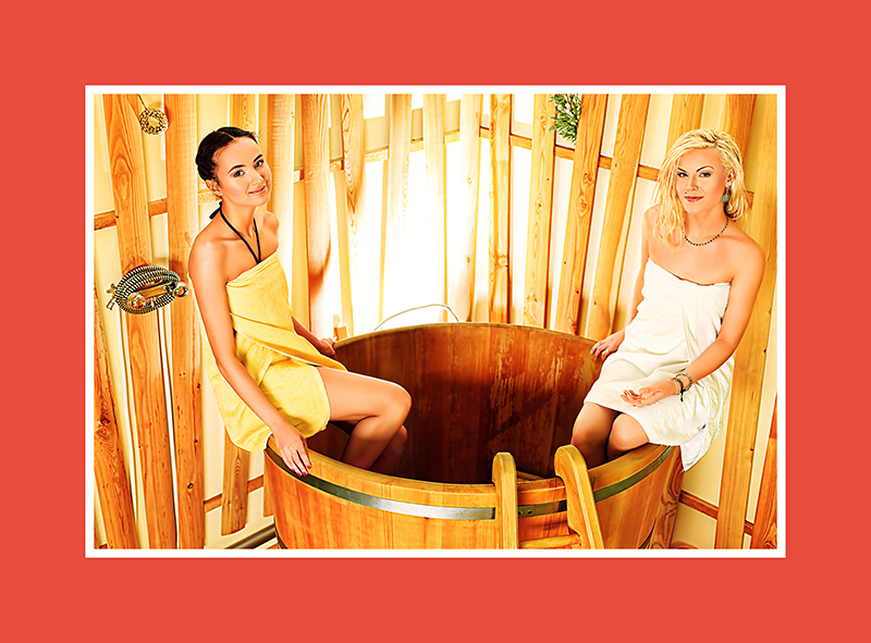 Tauchbecken für Sauna 5